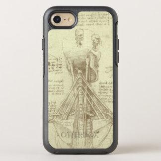 Coque OtterBox Symmetry iPhone 8/7 Colonne vertébrale d'anatomie humaine par Leonardo