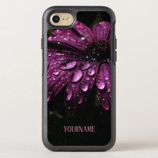 Coque OtterBox Symmetry iPhone 8/7 conception florale faite sur commande d'art de
