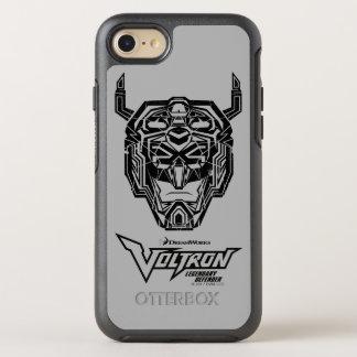 Coque OtterBox Symmetry iPhone 8/7 Contour rompu par tête de Voltron | Voltron