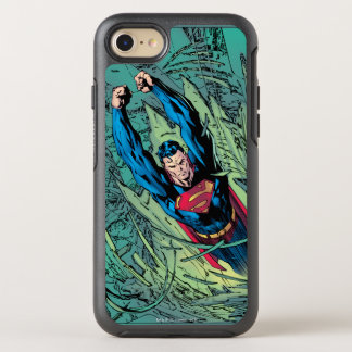 Coque OtterBox Symmetry iPhone 8/7 Coupures de Superman