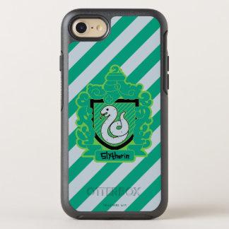 Coque OtterBox Symmetry iPhone 8/7 Crête de Slytherin de bande dessinée