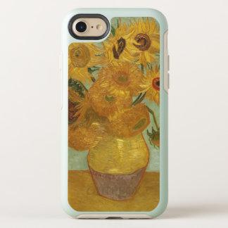 Coque OtterBox Symmetry iPhone 8/7 Cru de tournesols de Van Gogh floral