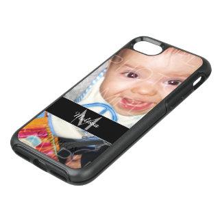Coque OtterBox Symmetry iPhone 8/7 Customisez-le avec votre photo et monogramme