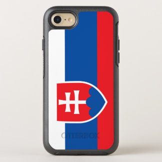 Coque OtterBox Symmetry iPhone 8/7 Drapeau de la Slovaquie