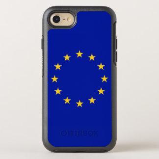 Coque OtterBox Symmetry iPhone 8/7 Drapeau d'Union européenne