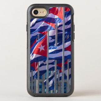 Coque OtterBox Symmetry iPhone 8/7 Drapeaux cubains, La Havane, Cuba