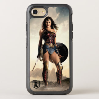 Coque OtterBox Symmetry iPhone 8/7 Femme de merveille de la ligue de justice | sur le