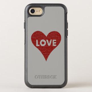 Coque OtterBox Symmetry iPhone 8/7 Ficelles de coeur d'amour