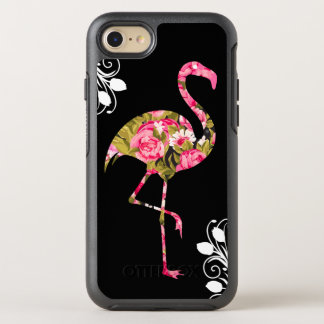 Coque OtterBox Symmetry iPhone 8/7 Flamant tropical floral