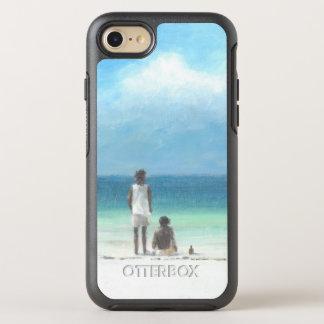 Coque OtterBox Symmetry iPhone 8/7 Garçons sur la plage Kenya