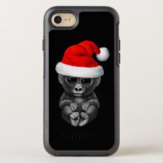 Coque OtterBox Symmetry iPhone 8/7 Gorille de bébé utilisant un casquette de Père
