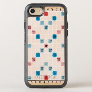 Coque OtterBox Symmetry iPhone 8/7 Grattez Gameboard vintage