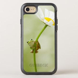 Coque OtterBox Symmetry iPhone 8/7 Grenouille sur une marguerite