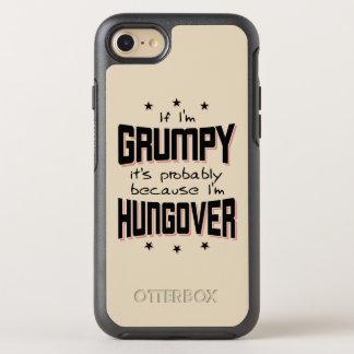 Coque OtterBox Symmetry iPhone 8/7 GRINCHEUX parce que HUNGOVER (noir)
