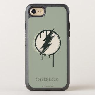 Coque OtterBox Symmetry iPhone 8/7 Grunge instantanée de peinture de boulon