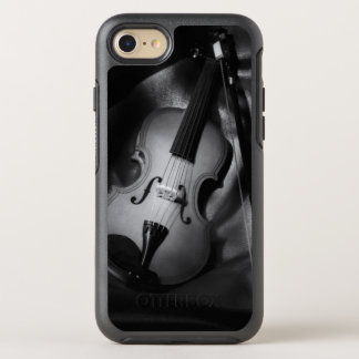 Coque OtterBox Symmetry iPhone 8/7 image de b&W de l'Encore-vie d'un violon