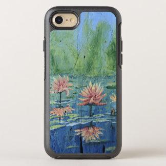 Coque OtterBox Symmetry iPhone 8/7 iPhone coloré et passionnant de lis de pêche 7/8