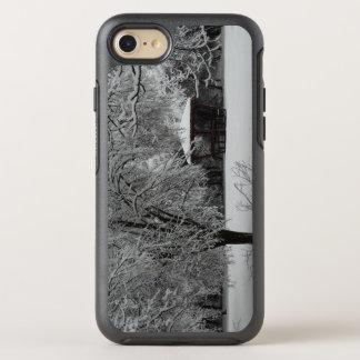 Coque OtterBox Symmetry iPhone 8/7 iPhone d'Apple de photo d'hiver 8/7 cas de série