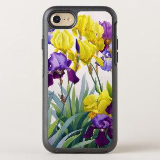 Coque OtterBox Symmetry iPhone 8/7 Iris jaunes et pourpres