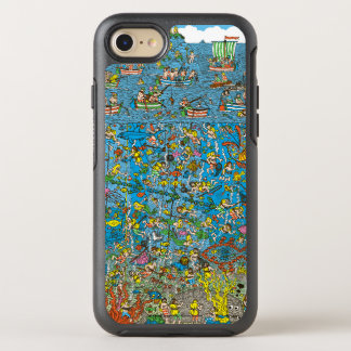 Coque OtterBox Symmetry iPhone 8/7 Là où est les plongeurs de mer profonde de Waldo