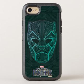 Coque OtterBox Symmetry iPhone 8/7 La panthère noire noire de la panthère | a gravé à