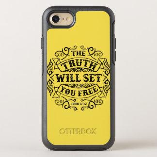 Coque OtterBox Symmetry iPhone 8/7 La vérité vous libérera cas de téléphone