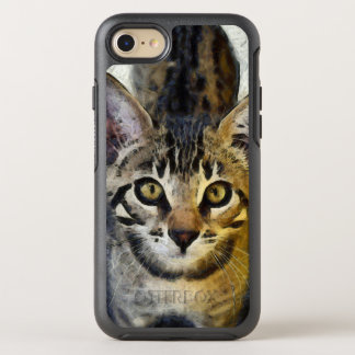 Coque OtterBox Symmetry iPhone 8/7 Le Bengale mignon Kitty