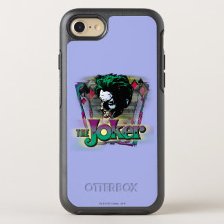 Coque OtterBox Symmetry iPhone 8/7 Le joker - visage et logo
