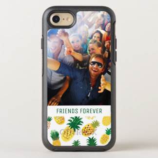 Coque OtterBox Symmetry iPhone 8/7 Le motif à la mode | d'ananas ajoutent votre photo
