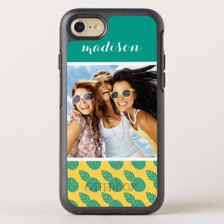 Coque OtterBox Symmetry iPhone 8/7 Le motif   d'ananas ajoutent votre photo et