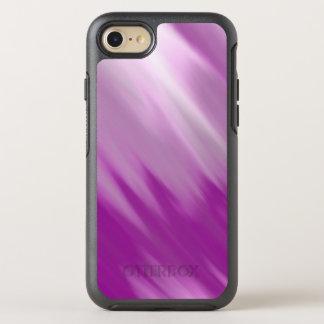 Coque OtterBox Symmetry iPhone 8/7 Le pourpre rayonne le cas de téléphone portable