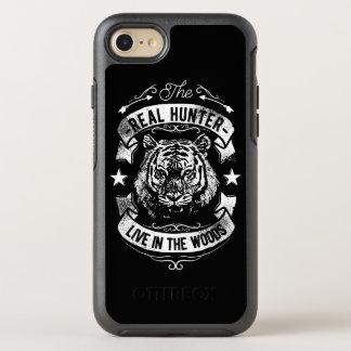 Coque OtterBox Symmetry iPhone 8/7 Le vrai chasseur vivent dans le téléphone C