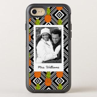 Coque OtterBox Symmetry iPhone 8/7 Les ananas géométriques   ajoutent votre photo et