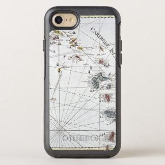 COQUE OtterBox SYMMETRY iPhone 8/7 LES CARAÏBE : CARTE, 1775