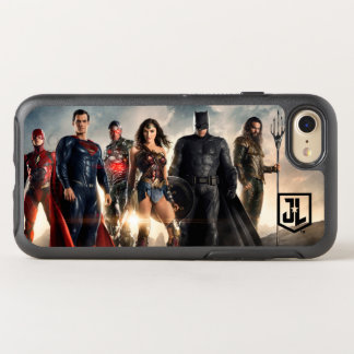 Coque OtterBox Symmetry iPhone 8/7 Ligue de justice de la ligue de justice | sur le