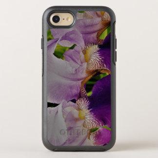 Coque OtterBox Symmetry iPhone 8/7 L'iris pourpre fleurit l'iPhone 8/7 série de