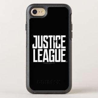 Coque OtterBox Symmetry iPhone 8/7 Logo de ligue de justice de la ligue de justice |