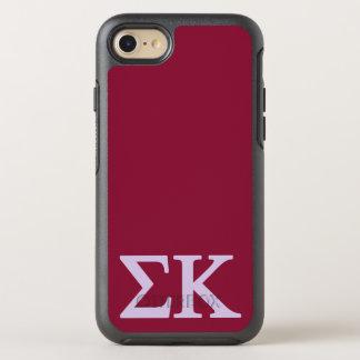 Coque OtterBox Symmetry iPhone 8/7 Logo de Lil de Kappa de sigma grand