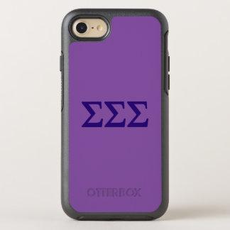 Coque OtterBox Symmetry iPhone 8/7 Logo de Lil de sigma de sigma de sigma grand