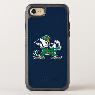 Coque OtterBox Symmetry iPhone 8/7 Logo irlandais de combat de lutin de Notre Dame |