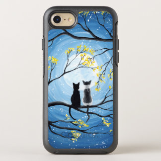 Coque OtterBox Symmetry iPhone 8/7 Lune lunatique avec des chats