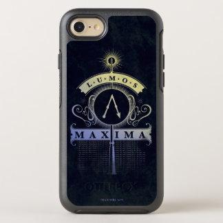 Coque OtterBox Symmetry iPhone 8/7 Maximum du charme | Lumos de Harry Potter