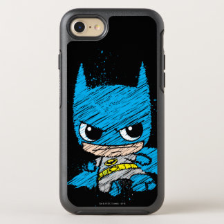 Coque OtterBox Symmetry iPhone 8/7 Mini croquis de Batman