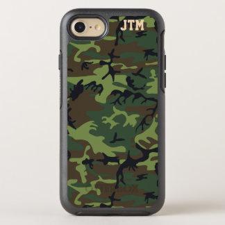 Coque OtterBox Symmetry iPhone 8/7 Monogramme frais de Camo de camouflage