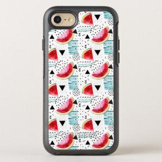 Coque OtterBox Symmetry iPhone 8/7 Motif abstrait de pastèque