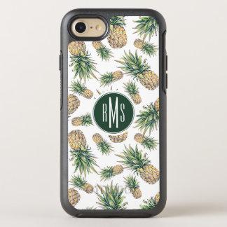 Coque OtterBox Symmetry iPhone 8/7 Motif d'ananas d'aquarelle