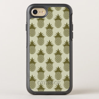 Coque OtterBox Symmetry iPhone 8/7 Motif kaki d'ananas