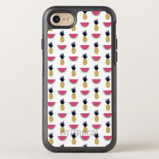 Coque OtterBox Symmetry iPhone 8/7 Motif mignon de griffonnage d'ananas et de