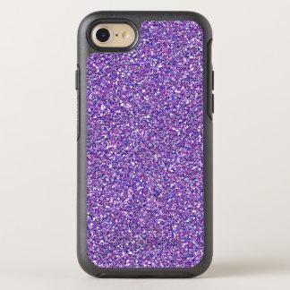 Coque OtterBox Symmetry iPhone 8/7 Motif moderne à la mode Girly d'étincelle pourpre