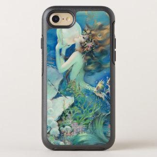 Coque OtterBox Symmetry iPhone 8/7 Océan nautique de perle vintage de la sirène W